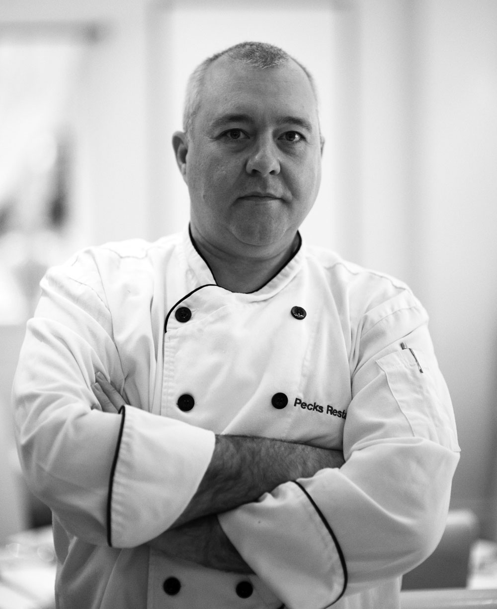 Pecks Head Chef Les Wassall