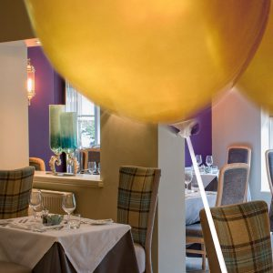 PECKS SPECIAL OCCASION BALLOONS Now you've made your reservation, why not decorate your table in style. Simply order your requirements and your table will be ready for your arrival. 1 Foil balloon and 2 table balloons £17.50 6 table balloons £15.00
