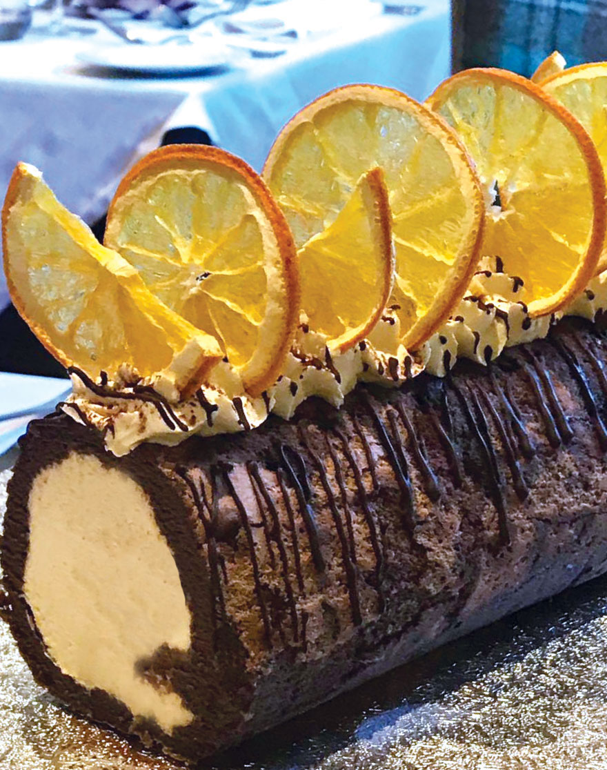 Pecks Pudding Chocolate Roulade